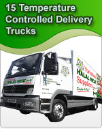 15 Temperature Controlled Delivery Trucks